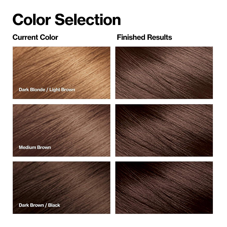 Revlon Top Speed Hair Colour Shade Card