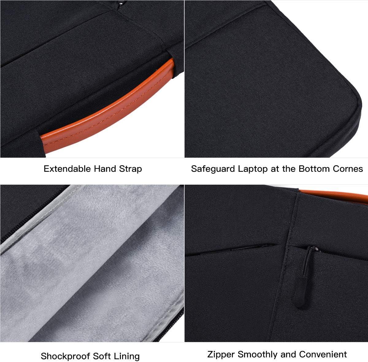 11.6-12.9 Inch Laptop Case for Samsung Chromebook Plus V2//Chromebook 3 Black Surface Pro X//7 Dell Inspiron Chromebook 11 Acer Asus Chromebook Vivobook 11.6 Inch Lenovo 11.6 Chromebook 100e