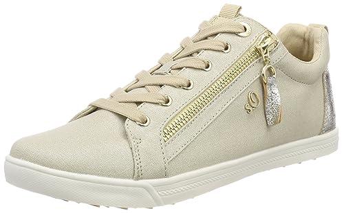 s.Oliver 25201, Zapatillas para Mujer, Blanco (White), 39 EU