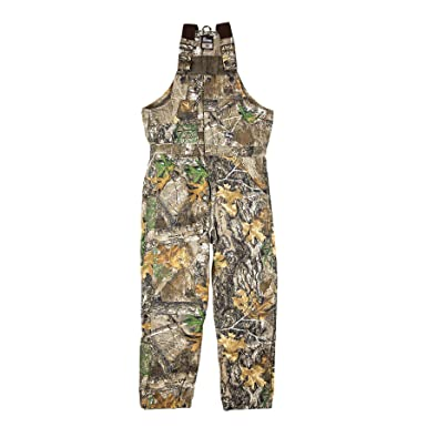 Amazon.com  Berne Men s Original Camouflage Insulated Bib  Overalls ... 8524004c892