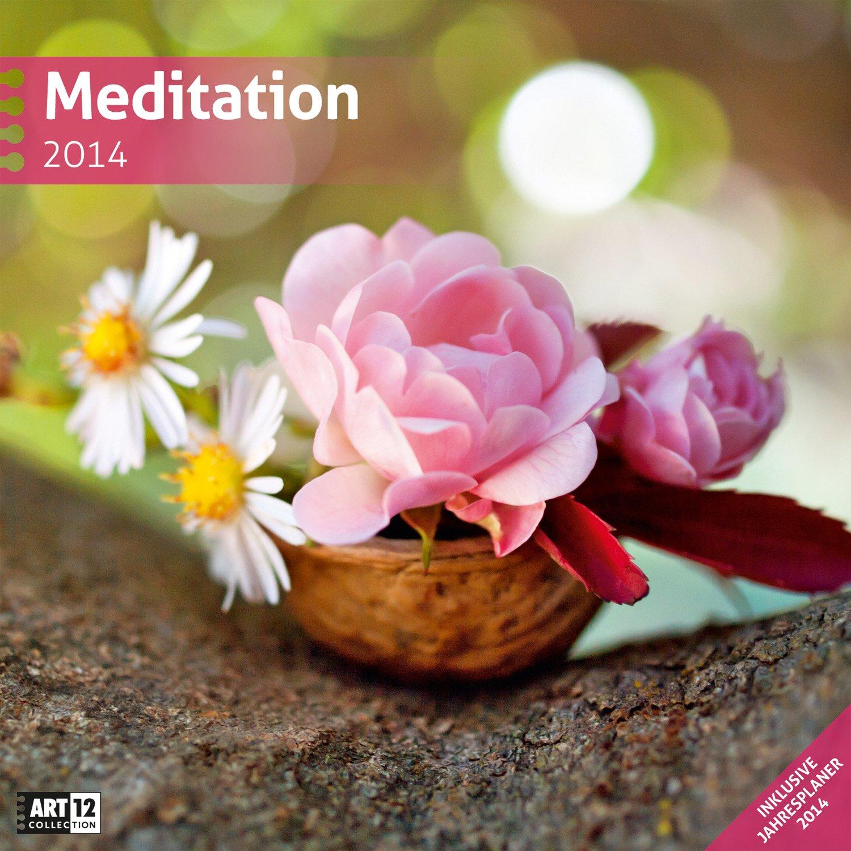 Meditation 2014 Art12 Collection: Broschürenkalender. Inlusive 10 beliebig oft verschiebaren Markern