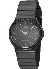Home Comforts Casio De los Hombres Analog Reloj–Negro MQ24–1E TRG