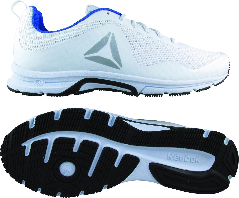 Reebok Triplehall 7.0, Zapatillas de Running para Hombre, Blanco (White/Black/Steel/Silver), 44 EU: Amazon.es: Zapatos y complementos