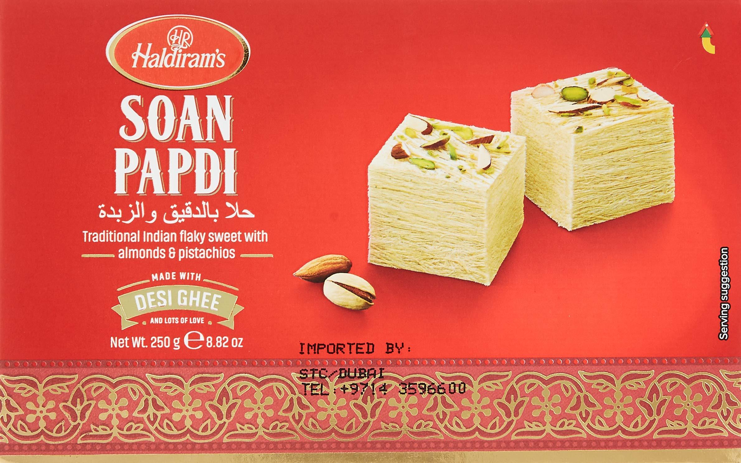 Haldirams - Soan Papdi 250Gms, Sweet, 8.75 Ounce