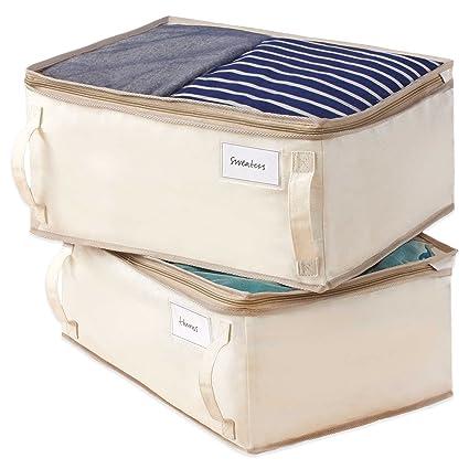 Beau 2 Pack Garment Storage Bag, Real Simple® , 13u0026quot; W X 18u0026quot