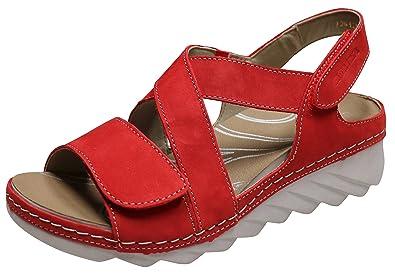 Spitzenreiter Zuverlässig Zu Verkaufen Romika Damen Salem Keilsandaletten Rot Gr. 37 Zu Verkaufen Sehr Billig Online-Shopping-Outlet Verkauf Wo Billige Echte Kaufen 1yc0R