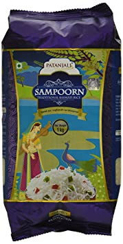 Patanjali Sampoorn Traditional Basmati Rice, 1kg