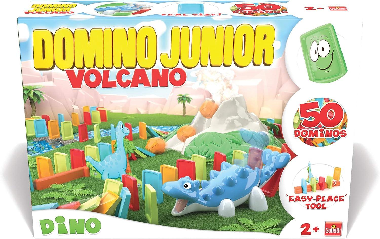 Goliath-81017 Dómino junior Dino volcán (81017) , color/modelo surtido: Amazon.es: Juguetes y juegos