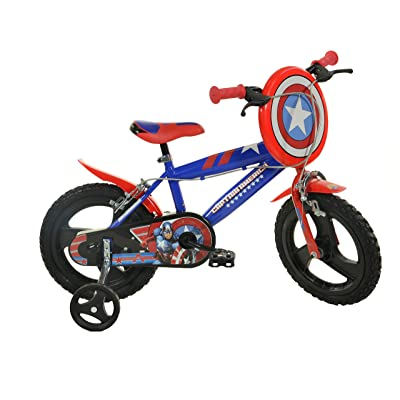 Dino Bikes 416U-CA 16-Inch Captain America Bicycle: Toys & Games