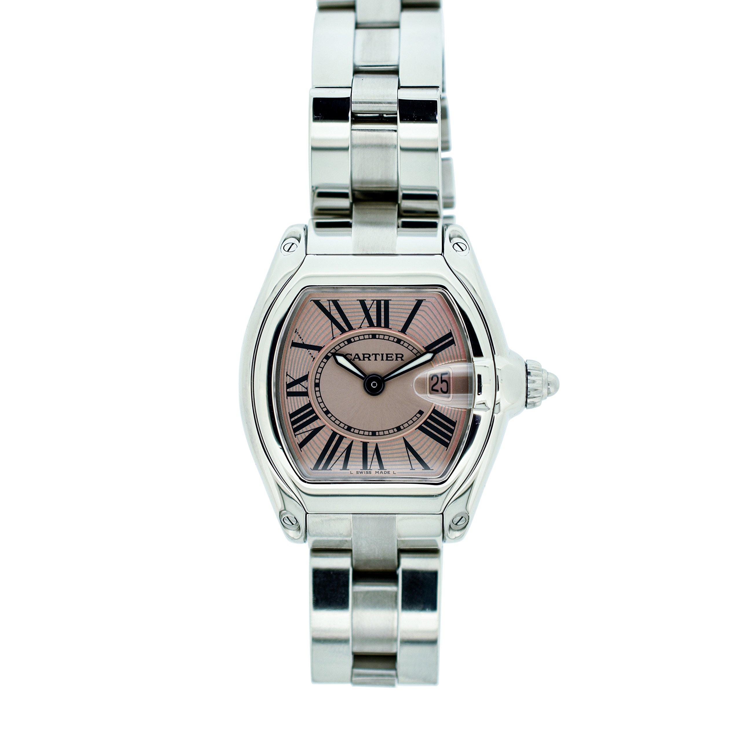 Cartier Roadster quartz womens Watch W62016V3 (Certified Pre-owned)