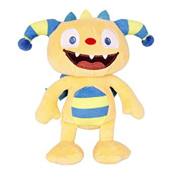 Giochi Preziosi Etiqueta colgante de la felpa Henry Knuddel Monster, 50 cm, juguetes de
