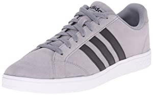 adidas NEO Men's Baseline Shoe,Grey/Black/White,13.5 M US
