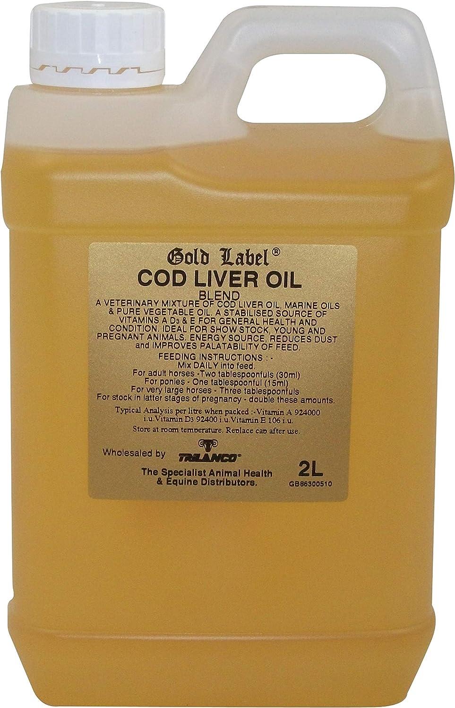 Gold Label - Aceite De Hígado De Bacalao - 2L