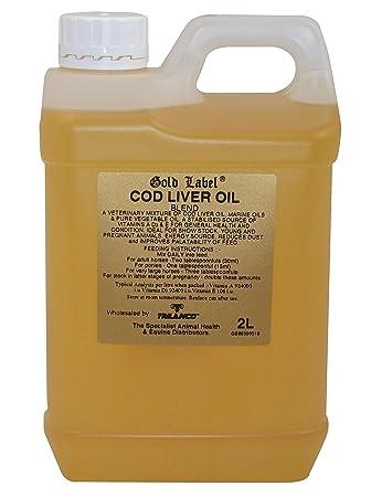 Gold Label - Aceite De Hígado De Bacalao - 2L: Amazon.es: Deportes y aire libre