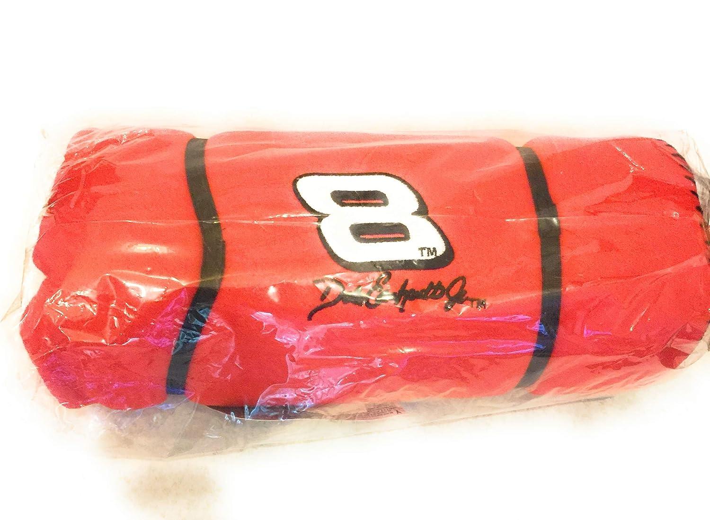 Nascar # 8 Dale Earnhardt Jr. Fleece Throw Roll Blanket 4' x 5'