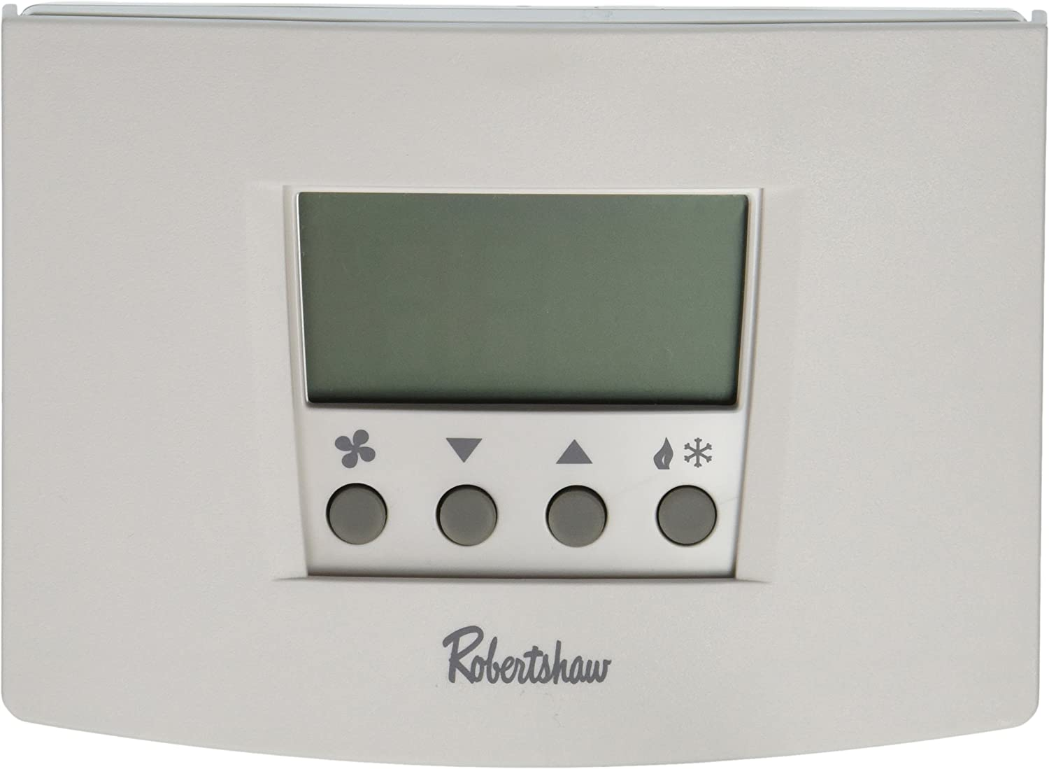 Robertshaw RS5110 1 Heat/1 Cool Digital 5-2 Day Programmable Thermostat Heat Pump, Single Stage