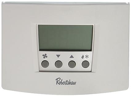 robertshaw rs5110 1 heat 1 cool digital 5 2 day programmable robertshaw rs5110 1 heat 1 cool digital 5 2 day programmable thermostat heat pump