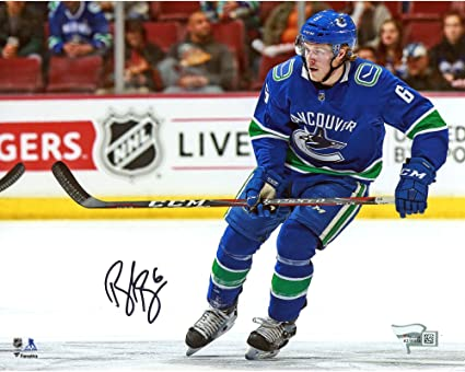 online store 010f7 bf680 Brock Boeser Vancouver Canucks Autographed 8