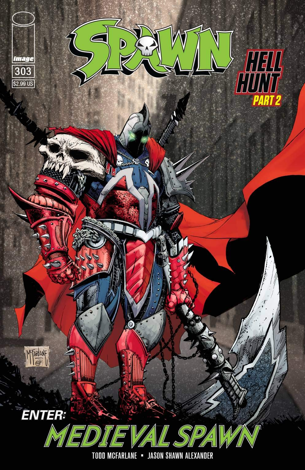 SPAWN #303 2019 COVER A Image Comics
