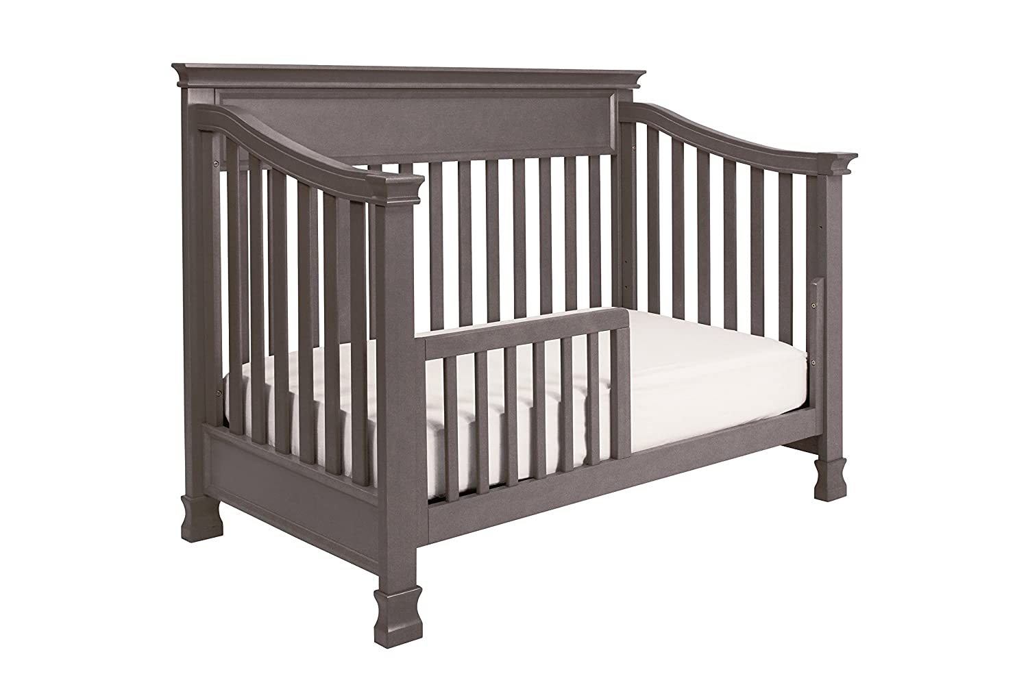 Crib for babies online india - Amazon Com Million Dollar Baby Classic Foothill 4 In 1 Convertible Crib With Toddler Rail Weathered Grey Baby