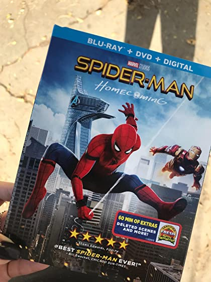 Spider-Man: Homecoming (Plus Bonus Content) amazing, shipped super fast and came with everything