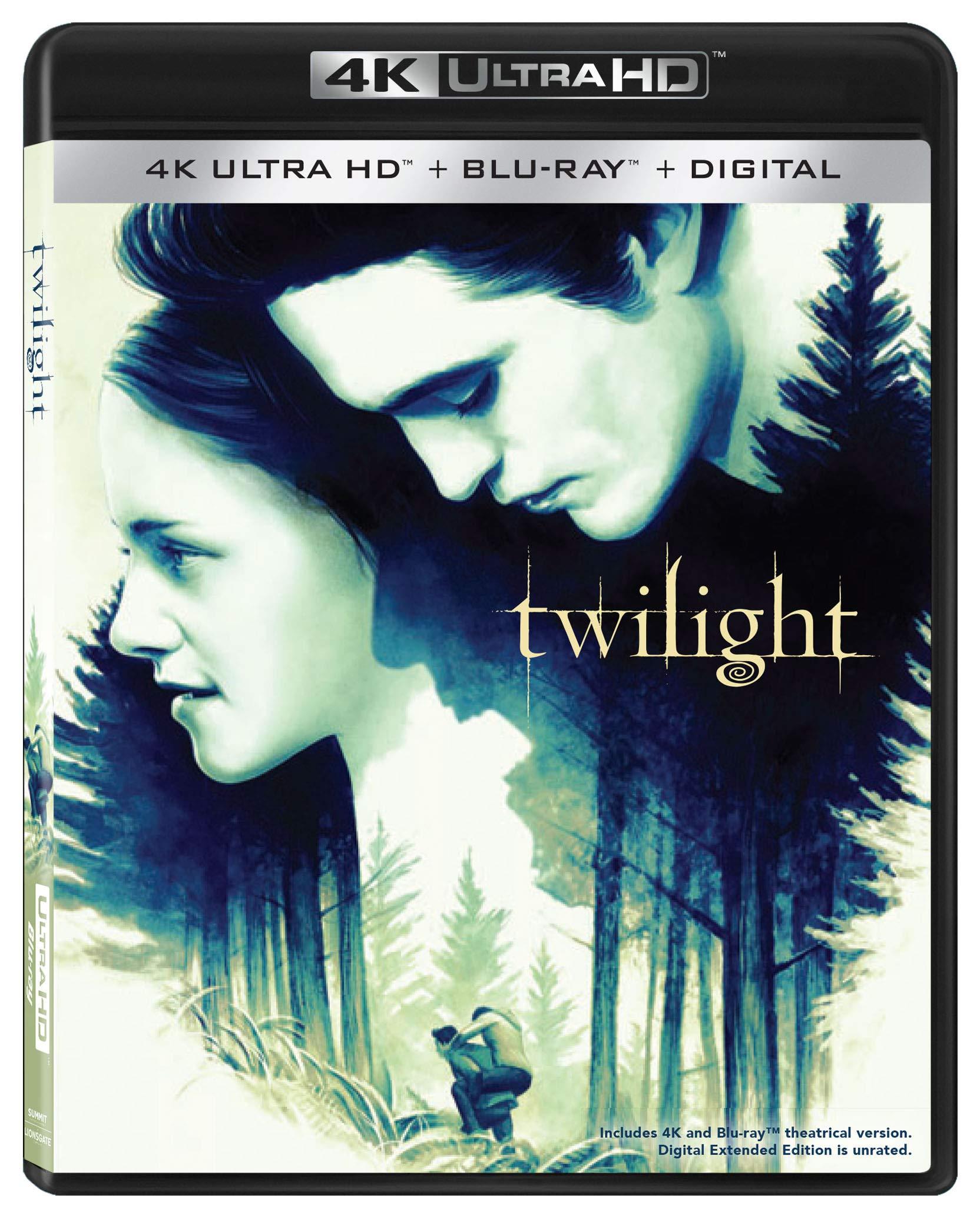 4K Blu-ray : Twilight (With Blu-ray, 4K Mastering, Anniversary Edition, Digital Copy)