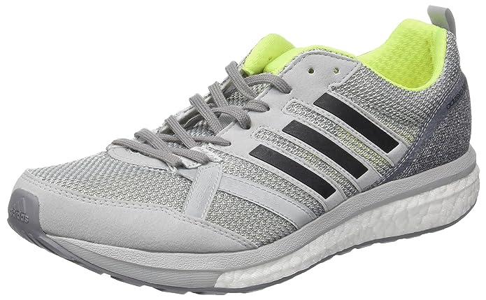 adidas Adizero Tempo 9 M, Zapatillas de Running para Hombre, Gris (Gridos/Negbas/Amasol), 46 2/3 EU: Amazon.es: Zapatos y complementos