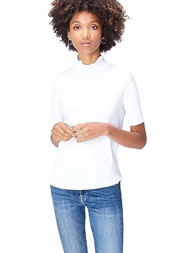 FIND T-Shirt a Collo Alto Donna