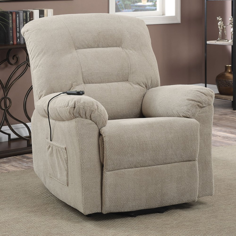 Coaster Home Furnishings 600399 Power Lift Recliner, Taupe