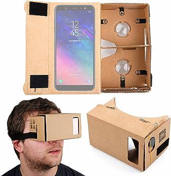 DURAGADGET Gafas de Realidad Virtual VR para Smarphones Smartphone Samsung Galaxy A6, Samsung Galaxy A6+: Amazon.es: Electrónica