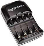 AmazonBasics Ni-MH AA & AAA Battery Charger With