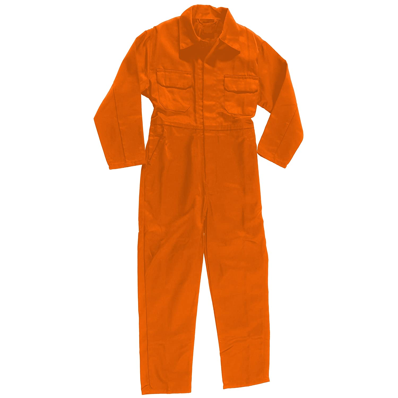 Kids BOYS Child Orange Prisoner Jumpsuit Costume (6-8yrs) Hannibal ...