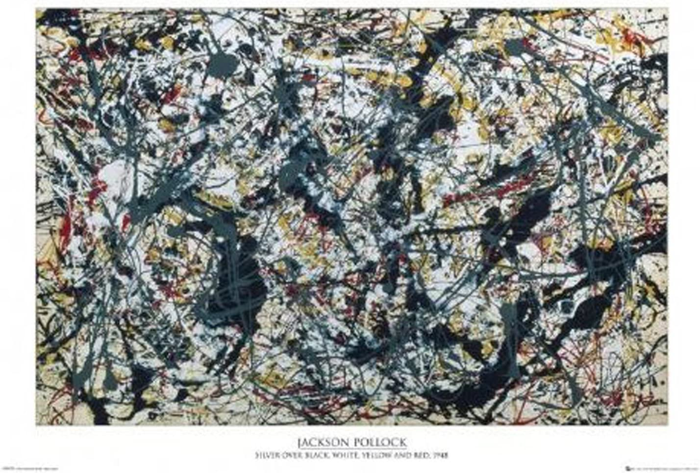 1.6 ft x 2.6 ft = 4.1 Square ft Rug Doormat Waterproof Plush Living Kitchen Jackson Pollock