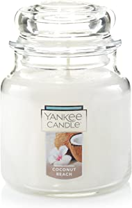 Yankee Candle Medium Jar Candle, Coconut Beach
