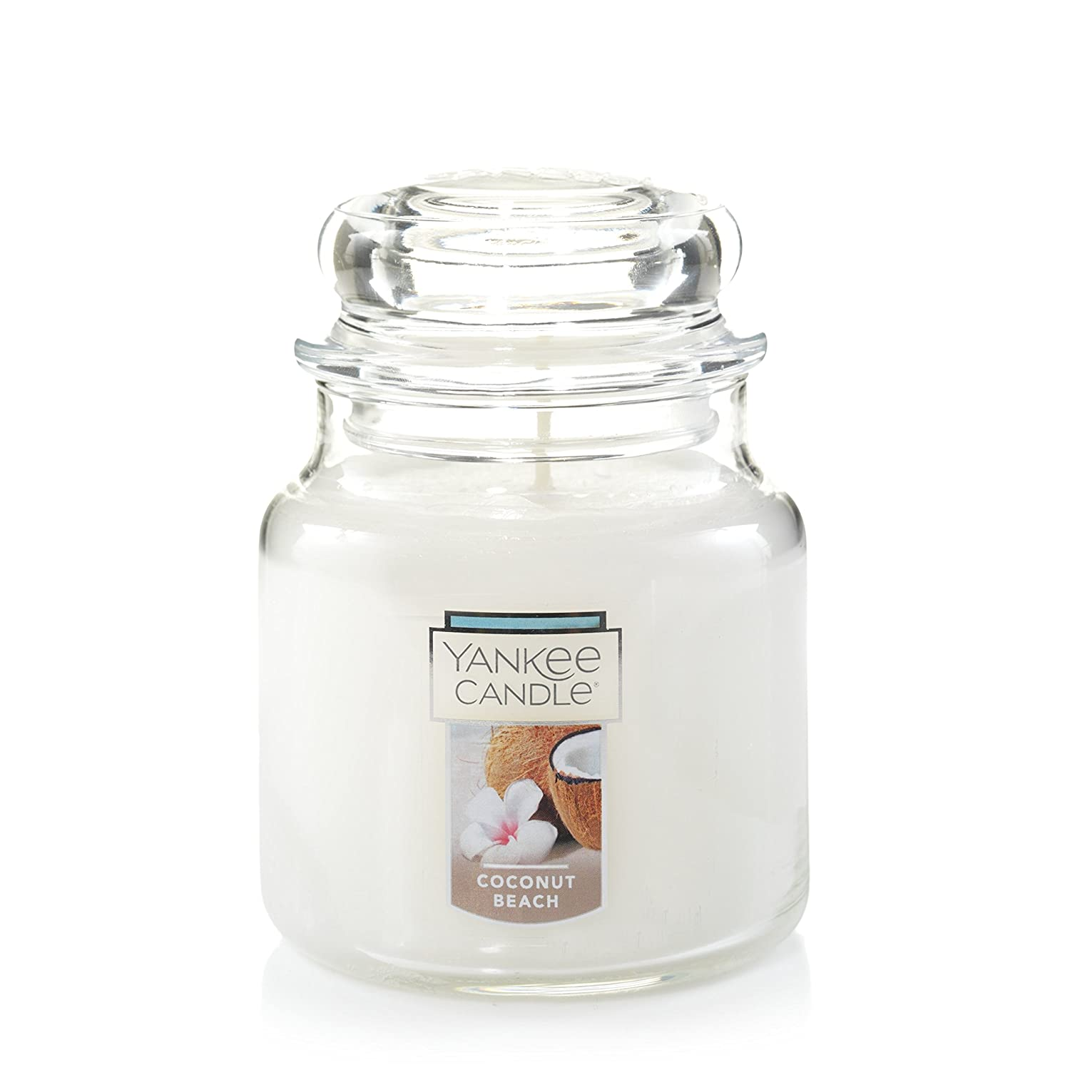 Yankee Candle Medium 2-Wick Tumbler Candle, Coconut Beach Yankee Candle Company 1523484Z
