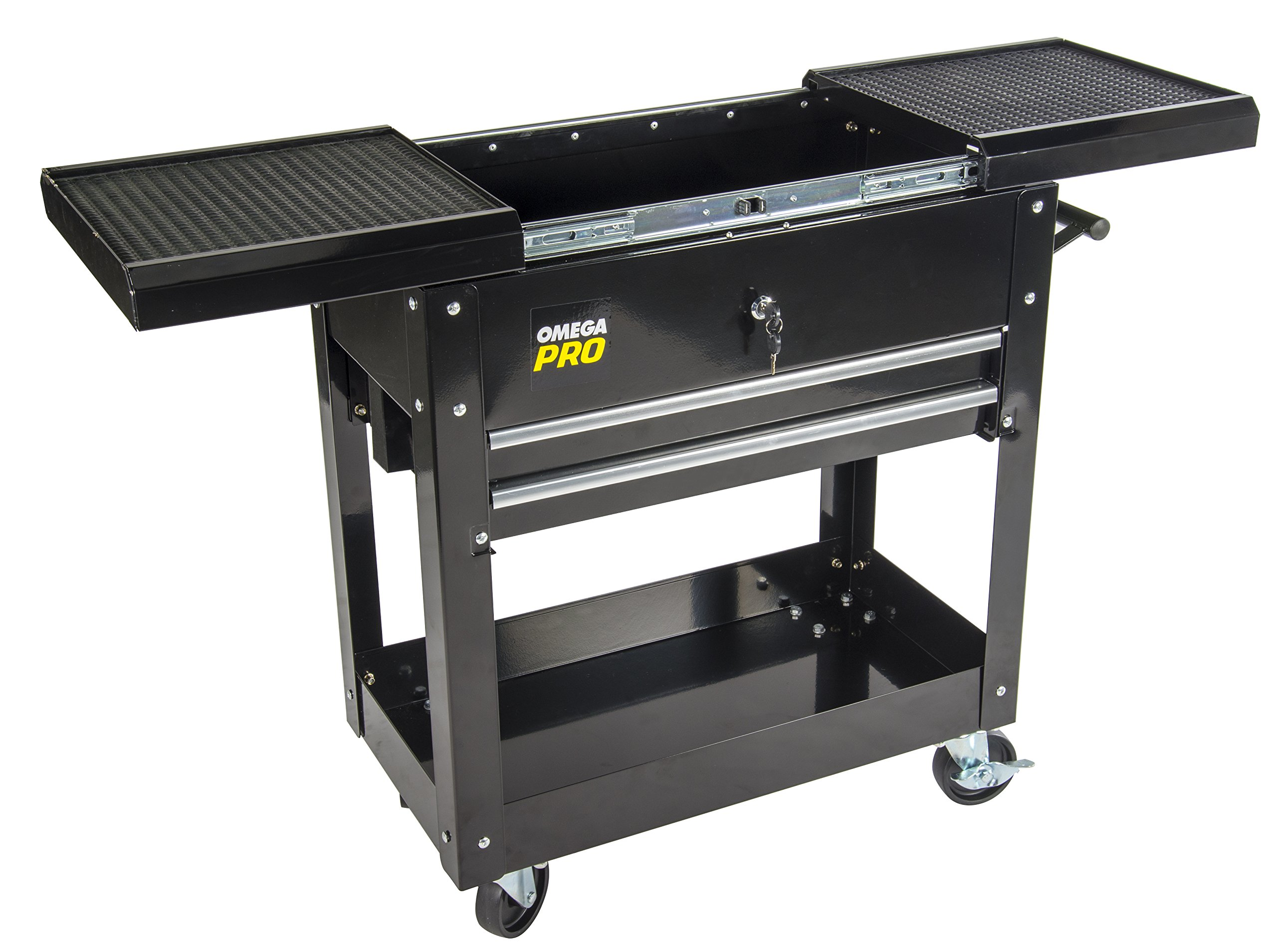 Omega Pro 97431 Omega Pro Heavy Duty Tool Cart, 17.32'' Height, 16.74'' Width, 31.1'' Length by Omega