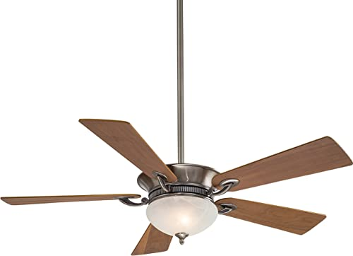 Minka Aire F701-PW, Delano, 52 5 Blades, Ceiling Fan, Pewter