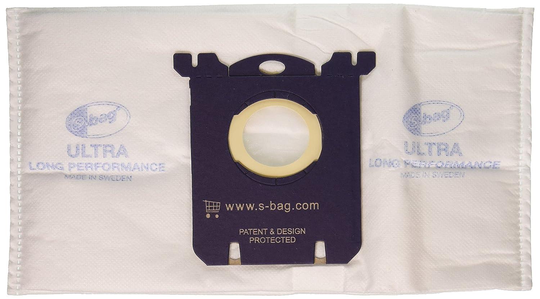 Eureka EL211-4 Paper Bag, Style S W/1 Fltr Ultra EL7070 3 Pk