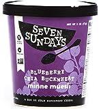 Seven Sundays Muesli, Blueberry Chia Buckwheat, 1 Pound (Pack of 6)