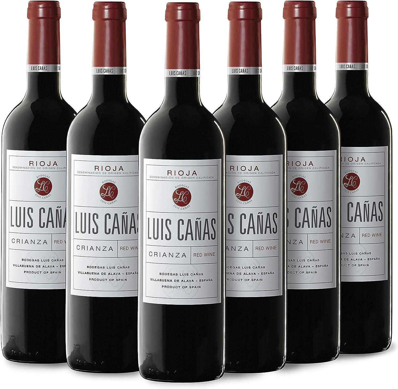 Luis Cañas Vino Tinto Crianza Rioja - 750 ml: Amazon.es: Alimentación y bebidas