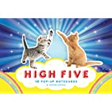 High Five Pop-Up Notecards: 10 Pop-up Notecards & Envelopes (Pop Up Greeting Card, Blank Interior Stationery)