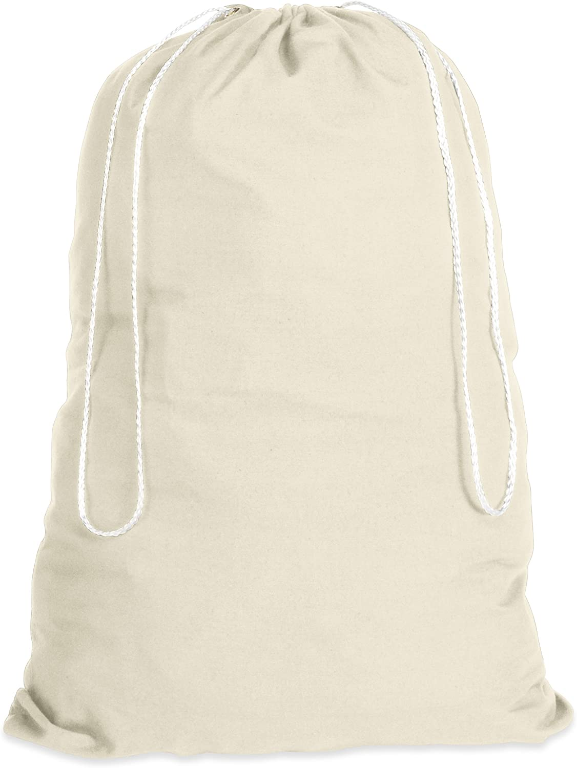 Whitmor Natural Cotton Laundry Bag