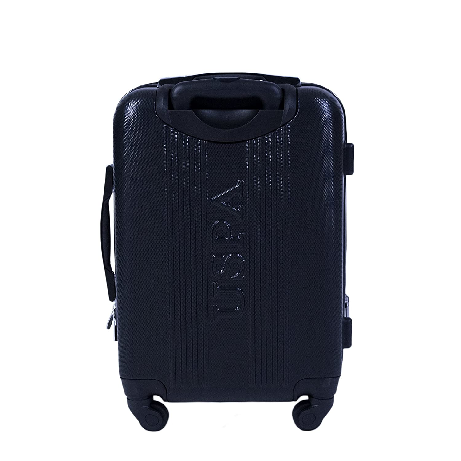 0d1d82af26 Amazon.com | U.S. Polo Assn. 21in Spinner Suitcase, Black | Carry-Ons