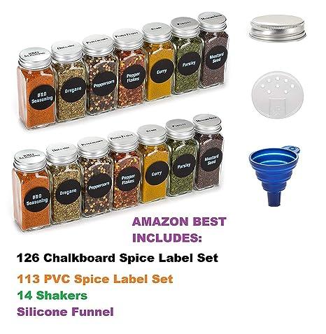 Amazon.com: Premium Vials, 6oz, mejor valor, 14 tarros de ...