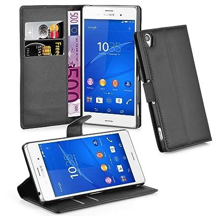 Amazon.com: Cadorabo – Estilo Libro Diseño para Sony Xperia ...