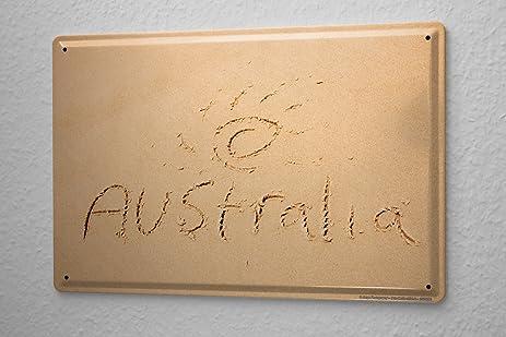 Amazon.com: Tin Sign Jorgensen Photography Photo images beach sand ...