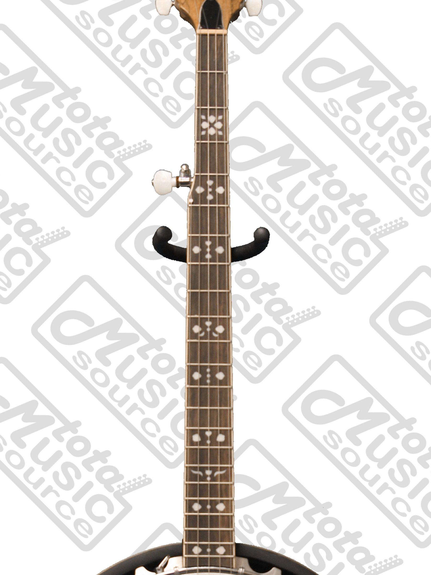 Oscar Schmidt OB5SP 5-String Banjo, Remo Head,Spalted Maple Resonator, Gloss Finish by Oscar Schmidt (Image #3)