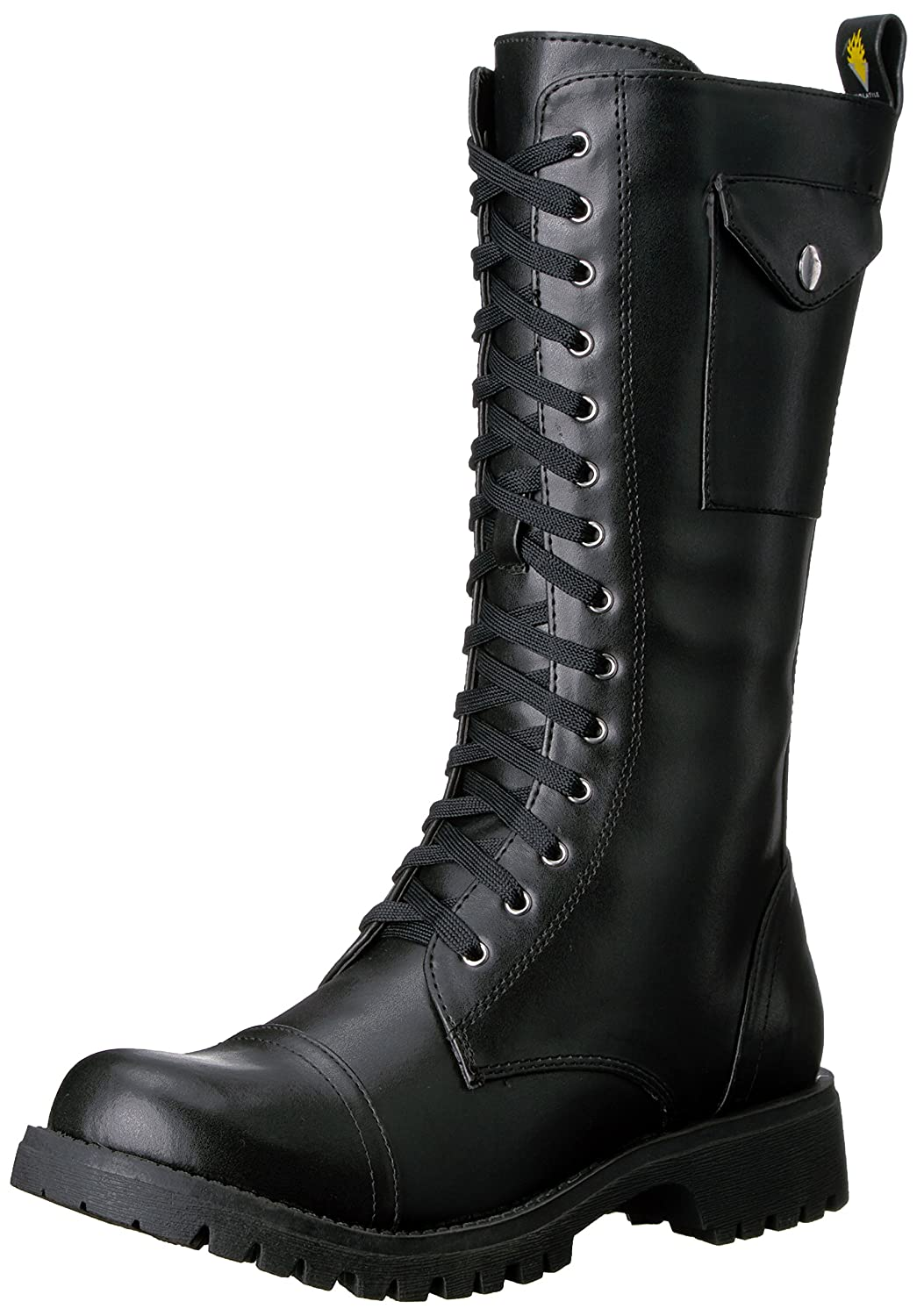 Volatile Women's Stash Combat Boot B001GTEZ8C 10 B(M) US|Black