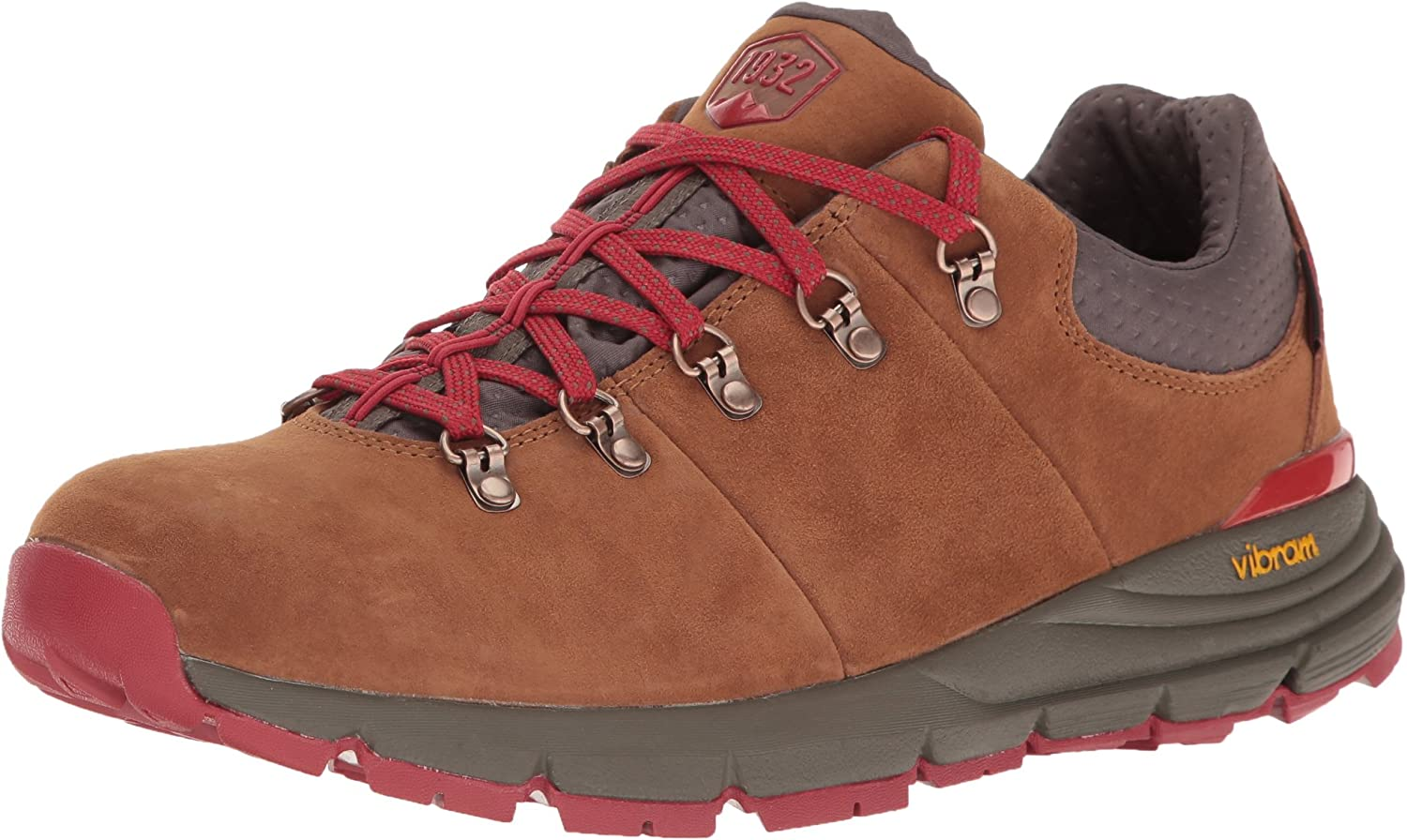 Danner Men s Mountain 600 Low 3 Brown Red Hiking Shoe