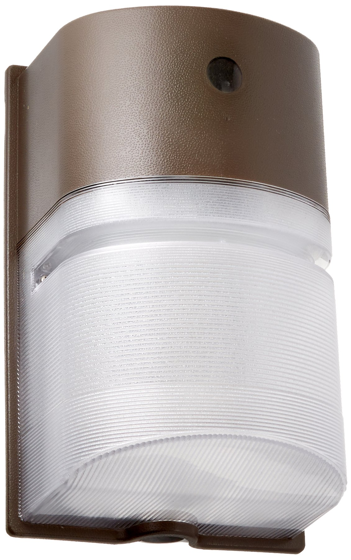 Hubbell Outdoor NRG250B Decorative Compact Wallpack with 50W PSMH Lamp, 120V